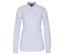 Bluse 'SIithaca' blau / weiß