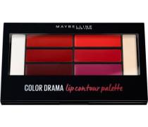 'Color Sensational Lip Contour Palette' Lippenstift rot