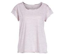 Gestreiftes T-shirt mischfarben / rot