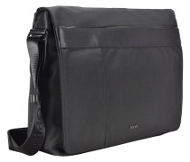 Pure Nylon Kimon Messenger 37 cm Laptopfach schwarz