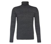 Rollkragen-Pullover schwarz