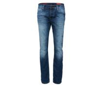 'Two Tone' Jeans blau