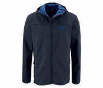 Softshelljacke »Northern Point« blau