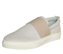 Slipper 'Cate' beige / weiß