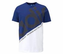 T-Shirt 'st. Petersburg Classic Tee' blau / schwarz / weiß