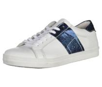 Sneaker kobaltblau / weiß