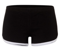 Shorts 'Interlock' schwarz