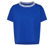 Shirt 'varsity Tee' blau