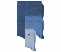 Travel Bag Socken (7 Paar) marine / hellblau