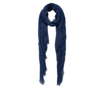 Langer Schal blau