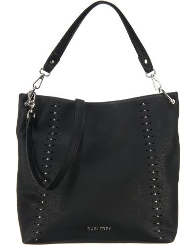 Handtasche 'Cansy' schwarz