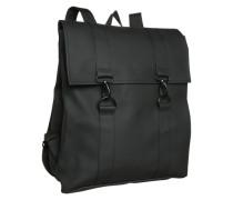 Wasserfester Rucksack schwarz