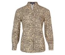 Trendige Bluse mit grafischem Muster
