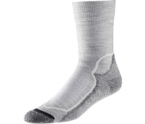 Hike+ Light Crew Wandersocken Damen grau