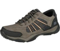 'Larson Alton' Freizeit Schuhe dunkelbeige / braun / schwarz