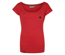 T-Shirt 'Wolle Viii' rot