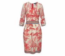 Sommerliches Kleid mit afrikanischem Print mischfarben