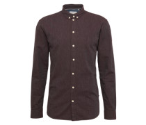Hemd 'Miro long sleeved' braun