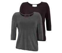 Shirts dunkelgrau / schwarz