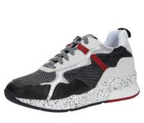 Sneaker 'karlie 35' rot / schwarz / weiß