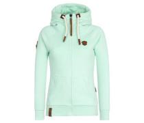 Zipped Jacket 'Birol IX' grünmeliert