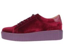 Plateau-Sneaker Gloria rot