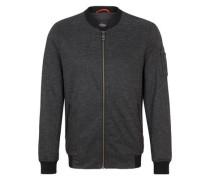 Elegante Jacke im Blouson-Stil schwarz