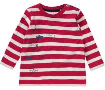 Baby Langarmshirt für Jungen rot