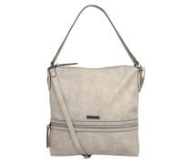 Schultertasche 'patty' taupe