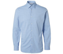 Businesshemd Regular fit blau