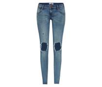 Skinny Jeans 'Loonies' blau