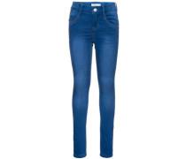 Skinny Fit Jeans nittrinas blau