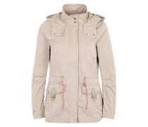 2-in-1-Jacke mit herausnehmbarer Weste beige / grau