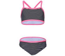 Bikini 'nitzummer' enzian / pink / weiß
