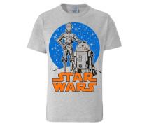 """T-Shirt """"r2-D2 & C-3Po"""" grau"""