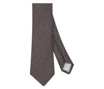 Krawatte ' Custom Fit ' braun
