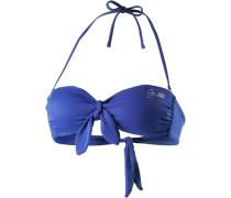 Bikini Oberteil blau