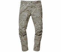 G-Star Tapered-fit-Jeans »G-Star Elwood X25 3D Dazzle Camouflage« beige