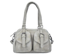 'Lilli Vintage' Handtasche 32 cm hellgrau