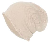 Kaschmir Mütze beige
