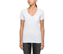 T-Shirts (mit Arm) weiß