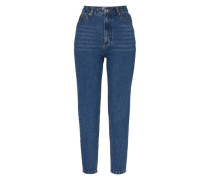 'Moa' Mom Jeans blau