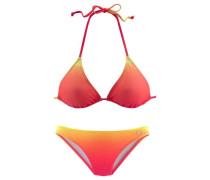 Triangel-Bikini orange