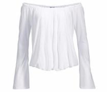Off-Shoulder-Shirt weiß