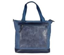 'Sumatra' Shopper blau