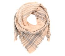 Schal mit feinen Fransen pink