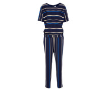 Jumpsuit 'Asumy' creme / blau