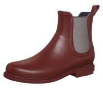 Gummistiefelette 'Rubber Boot' weinrot