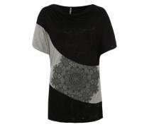 Shirt 'Suiza' schwarz