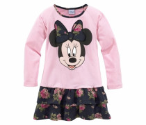 Jerseykleid mit Minnie Mouse Druckmotiv marine / rosa